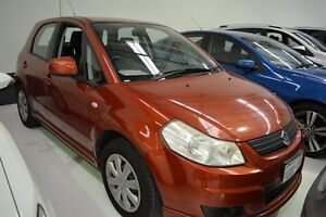 2007 Suzuki SX4 GY Orange 5 Speed Manual Hatchback Welshpool Canning Area Preview