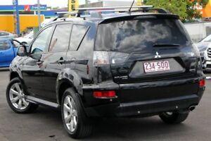 2010 Mitsubishi Outlander ZH MY10 Activ Black 6 Speed Constant Variable Wagon