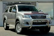 2014 Toyota Hilux KUN26R MY14 SR5 Double Cab Silver 5 Speed Automatic Utility Ferntree Gully Knox Area Preview