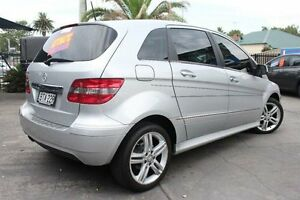 2010 Mercedes-Benz B180 245 MY10 Silver 7 Speed CVT Auto Sequential Hatchback Hamilton Newcastle Area Preview