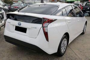 2016 Toyota Prius ZVW50R Glacier White 1 Speed Constant Variable Liftback Hybrid