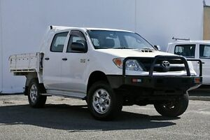 2007 Toyota Hilux KUN26R MY07 SR White 5 Speed Manual Cab Chassis Tweed Heads South Tweed Heads Area Preview