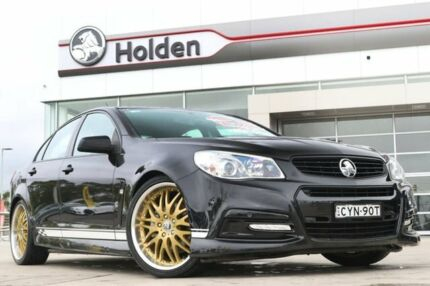 2015 Holden Commodore VF MY15 SV6 Black 6 Speed Manual Sedan Liverpool Liverpool Area Preview