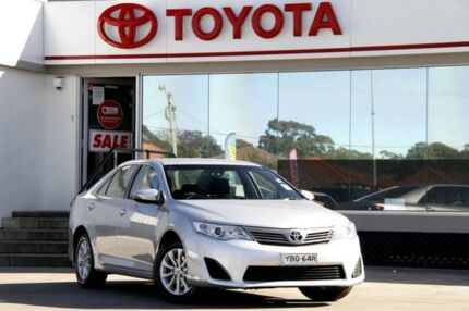 2013 Toyota Camry ASV50R Altise Silver 6 Speed Automatic Sedan Old Guildford Fairfield Area Preview