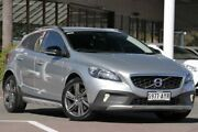 2013 Volvo V40 Cross Country M Series MY14 T5 Adap Geartronic AWD Luxury Silver 6 Speed Christies Beach Morphett Vale Area Preview
