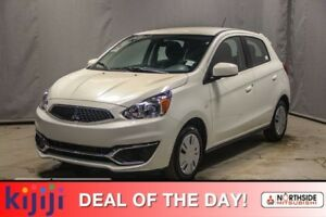 2018 Mitsubishi Mirage ES 5-SPEED ES PLUS PKG, AID CONDITIONING,