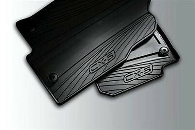 Genuine Mazda CX-5 All Weather Floor Mats (set of 4) 2013 2014 2015