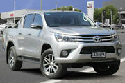 2017 Toyota Hilux GUN126R SR5 Double Cab Silver Sky 6 Speed Sports Automatic Utility Adelaide CBD Adelaide City Preview