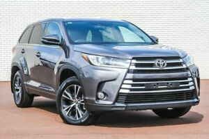 2017 Toyota Kluger GSU50R GX 2WD Grey 8 Speed Sports Automatic Wagon Morley Bayswater Area Preview