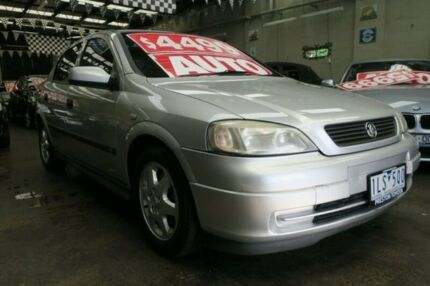 2001 Holden Astra TS CD 4 Speed Automatic Hatchback