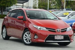2013 Toyota Corolla ZRE182R Ascent Sport Red/Black 6 Speed Manual Hatchback Toowong Brisbane North West Preview