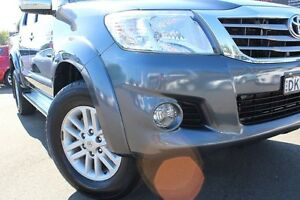 2013 Toyota Hilux KUN26R MY12 SR5 Double Cab Charcoal Grey 4 Speed Automatic Utility Windsor Hawkesbury Area Preview