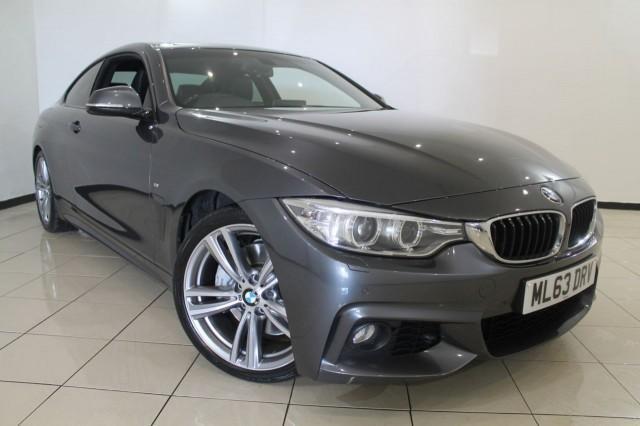 2013 63 BMW 4 SERIES 3.0 435I M SPORT 2DR 302 BHP