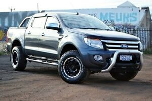 2015 Ford Ranger PX XLT Double Cab Grey 6 Speed Manual Utility Woodbridge Swan Area Preview