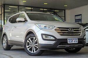 2015 Hyundai Santa Fe DM3 MY16 Elite Silver 6 Speed Sports Automatic Wagon Myaree Melville Area Preview