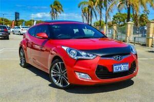 2017 Hyundai Veloster FS5 Series 2 MY16 Veloster Red 6 Speed Manual Coupe Greenfields Mandurah Area Preview