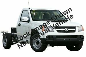 2011 Holden Colorado RC MY11 LX 4x2 White 5 Speed Manual Cab Chassis Stuart Park Darwin City Preview