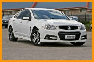 2015 Holden Commodore VF MY15 SS White 6 Speed Manual Sedan Hillcrest Logan Area Preview