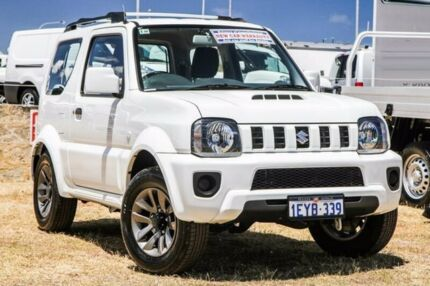 2015 Suzuki Jimny SN413 T6 Sierra White 5 Speed Manual Hardtop