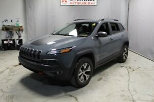 2015 Jeep Cherokee 4WD TRAILHAWK Navigation (GPS),  Leather,  He