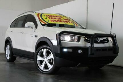 2012 Holden Captiva CG Series II 7 LX (4x4) White 6 Speed Automatic Wagon