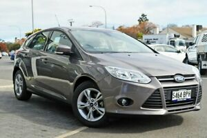 2013 Ford Focus LW MkII Trend PwrShift Grey 6 Speed Sports Automatic Dual Clutch Hatchback Medindie Walkerville Area Preview