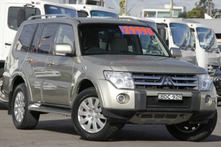 2007 Mitsubishi Pajero NS Exceed LWB (4x4) Champagne 5 Speed Auto Sports Mode Wagon Arncliffe Rockdale Area Preview