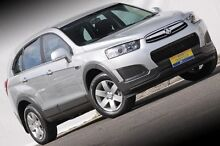 2015 Holden Captiva CG MY15 Silver 6 Speed Sports Automatic Wagon Ferntree Gully Knox Area Preview