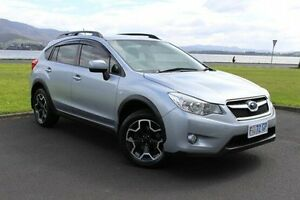 2012 Subaru XV G4-X MY13 2.0i Lineartronic AWD Silver 6 Speed Constant Variable Wagon Invermay Launceston Area Preview