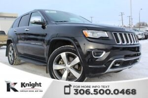 2015 Jeep Grand Cherokee Overland - Heated/Cooled Leather Seats
