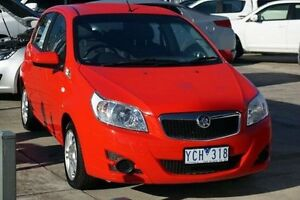 2010 Holden Barina TK MY11 Red 5 Speed Manual Hatchback Lake Wendouree Ballarat City Preview