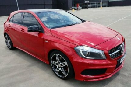 2014 Mercedes-Benz A250 W176 Sport D-CT Red 7 Speed Sports Automatic Dual Clutch Hatchback