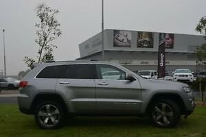 2016 Jeep Grand Cherokee WK MY15 Limited Silver 8 Speed Sports Automatic Wagon Hallam Casey Area Preview
