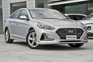2018 Hyundai Sonata LF4 MY18 Active Silver 6 Speed Sports Automatic Sedan Hillcrest Logan Area Preview
