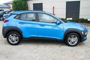 2018 Hyundai Kona OS MY18 Active D-CT AWD Blue Lagoon 7 Speed Sports Automatic Dual Clutch Wagon Hillcrest Logan Area Preview