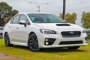 2014 Subaru WRX V1 MY15 Premium Lineartronic AWD White 8 Speed Constant Variable Sedan Wangara Wanneroo Area Preview