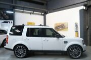 2013 Land Rover Discovery 4 Series 4 L319 MY13 SDV6 HSE White 8 Speed Sports Automatic Wagon Port Melbourne Port Phillip Preview