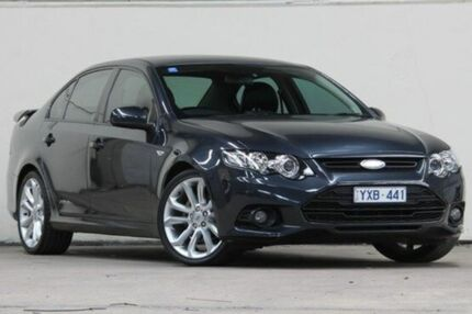 2012 Ford Falcon FG MkII XR6 Limited Edition Grey 6 Speed Auto Seq Sportshift Sedan Vermont Whitehorse Area Preview