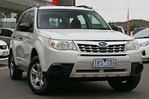 2011 Subaru Forester S3 MY11 X AWD White 5 Speed Manual Wagon Mill Park Whittlesea Area Preview