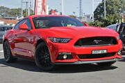 2015 Ford Mustang FM GT Fastback Red 6 Speed Manual Fastback Gymea Sutherland Area Preview