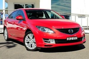 2009 Mazda 6 GH1051 MY09 Classic Red 5 Speed Sports Automatic Hatchback North Gosford Gosford Area Preview