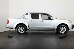 2010 Nissan Navara D40 ST-X (4x4) Silver 6 Speed Manual Dual Cab Pick-up McGraths Hill Hawkesbury Area Preview