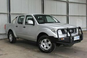 2012 Nissan Navara D40 S6 MY12 RX Silver 6 Speed Manual Utility Invermay Launceston Area Preview