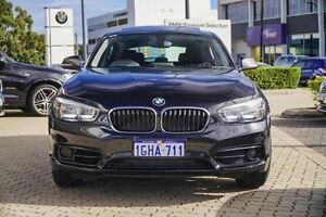 2016 BMW 118i F20 LCI Sport Line Black 6 Speed Manual Hatchback Victoria Park Victoria Park Area Preview