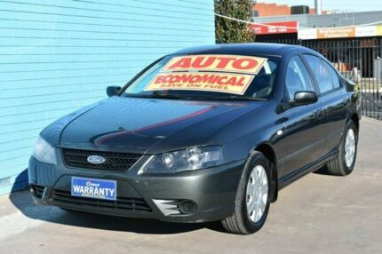 2008 Ford Falcon BF Mk II SR Grey 4 Speed Sports Automatic Sedan Enfield Port Adelaide Area Preview
