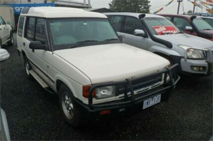 1995 Land Rover Discovery V8I (4x4) White 4 Speed Automatic 4x4 Wagon Bayswater North Maroondah Area Preview