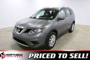 2015 Nissan Rogue AWD S Accident Free,  Back-up Cam,  Bluetooth,