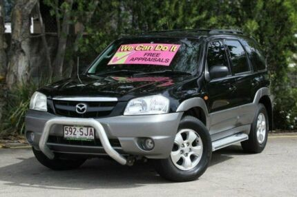 2005 Mazda Tribute MY2004 Classic Black 4 Speed Automatic Wagon Underwood Logan Area Preview