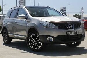 2013 Nissan Dualis J10W Series 3 MY12 Ti-L Hatch X-tronic 2WD Silver 6 Speed Constant Variable Gymea Sutherland Area Preview