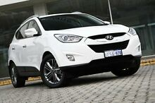 2014 Hyundai ix35  White Sports Automatic Wagon St James Victoria Park Area Preview